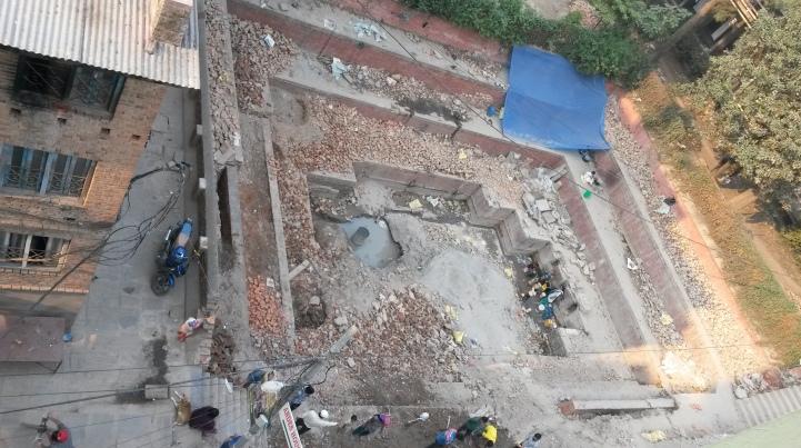Dhunge Dhara rebuild